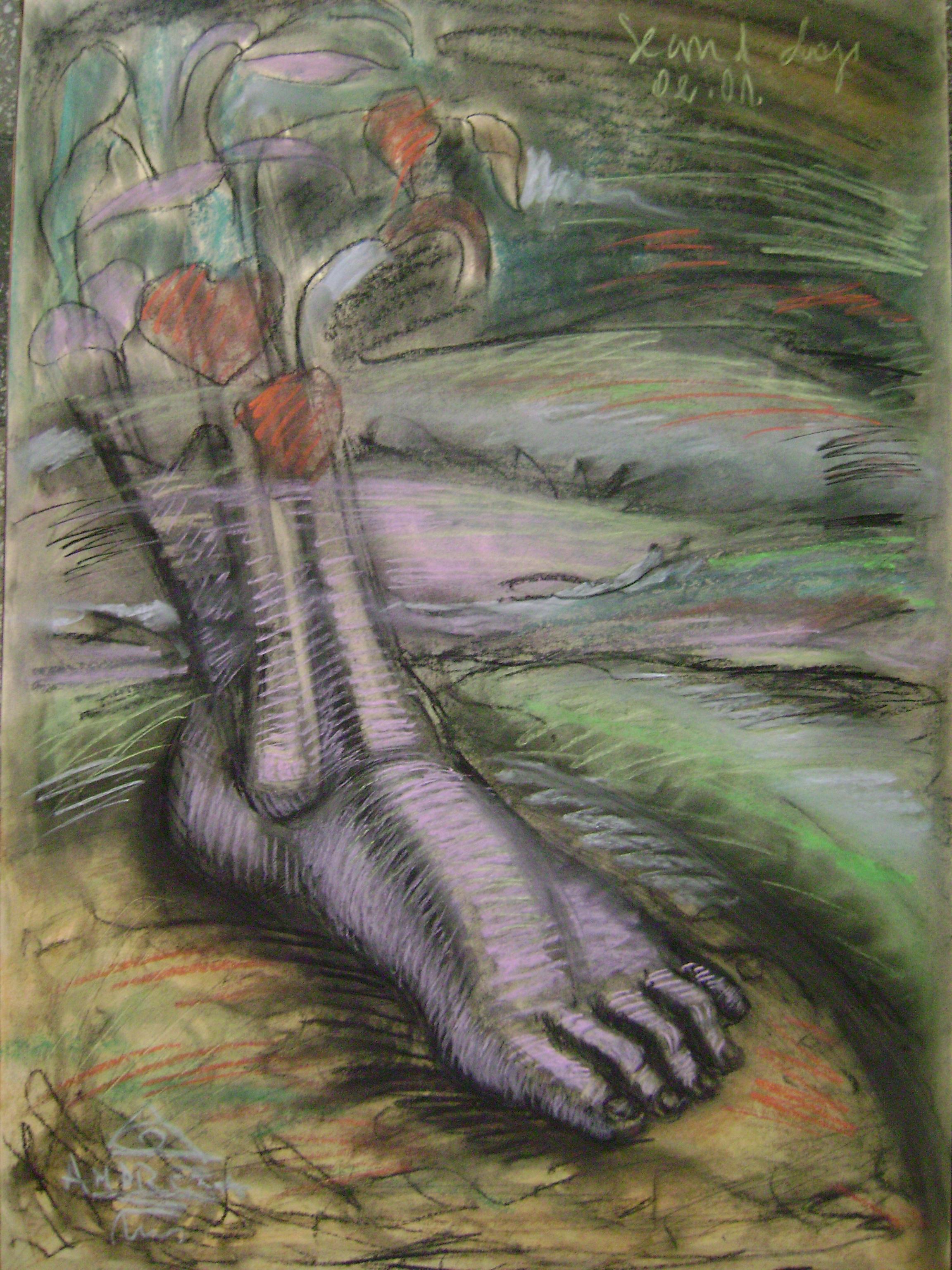 ANDREEA RUS , p. 2. artbook, 70-50 cm., 2015